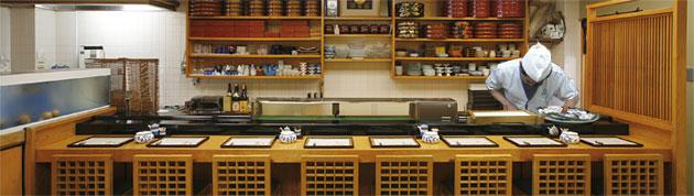 京料理 満る安 板前さんの技が光る ぜひカウンターへどうぞ 寿司・割烹・丼・松花堂弁当